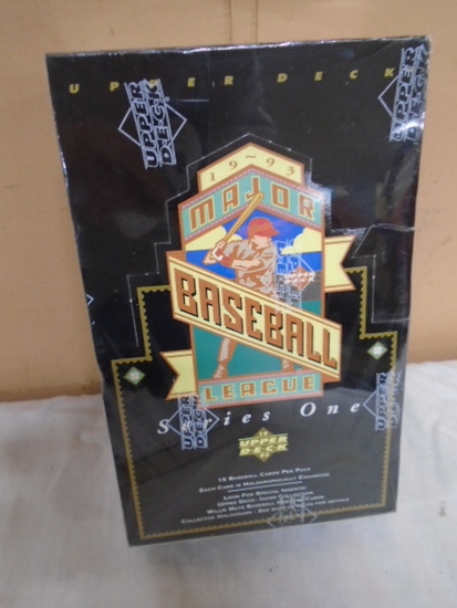 Upper Deck 1993 Series One Unopened Box of Baseball Wax Packs