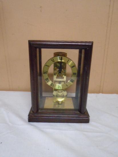 Hamilton Woodcase Mantel Clock