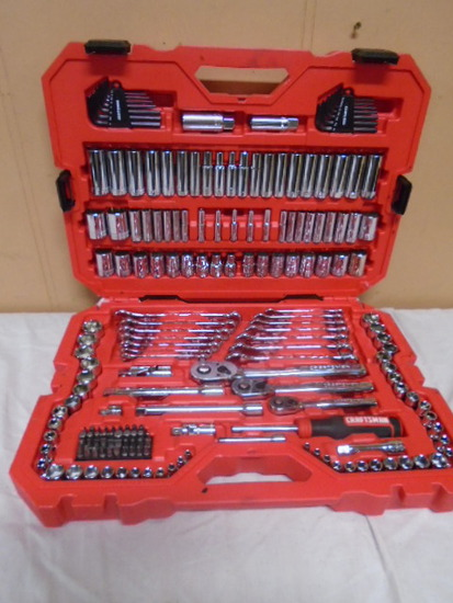 Brand New Never Used 189pc Craftsman SAE/Metric Tool Set in Case