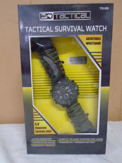 HD Tactical Survival Watch