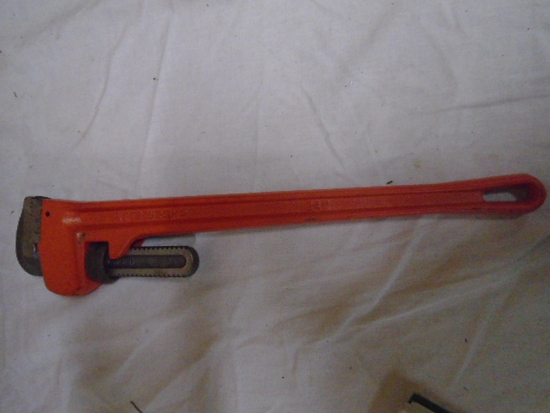 """Brand New 24"""" Pittsburg Pipe Wrench"""
