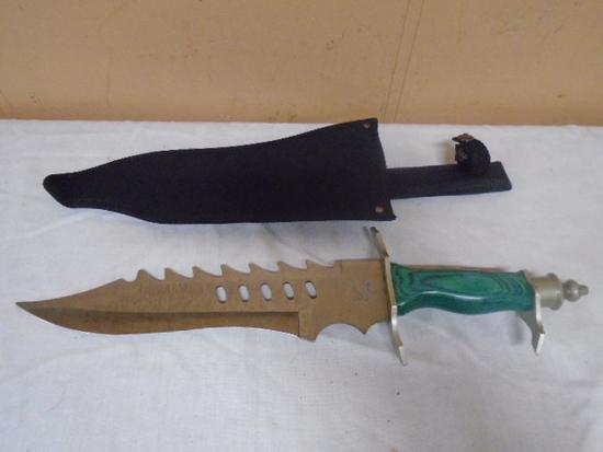 Ultimate Steel Warrior Bowie Knife