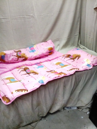 Wlidkin Kid's Collection Blanket and Pillow Roll
