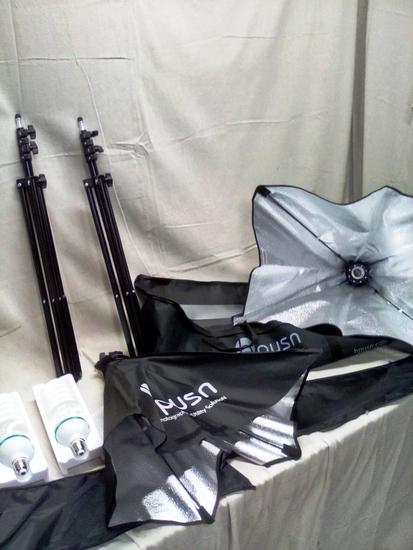 Hpusn Soft Box lightning kit