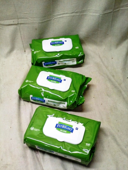 FitRight Personal Cleaning Cloths