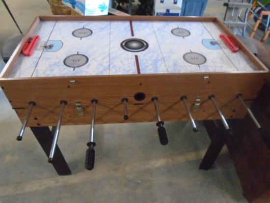 Multi-Game Game Table w/ Accessories and Manuals
