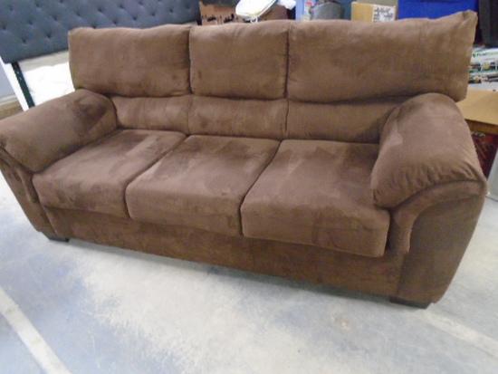 Beautiful Chocolate Brown Sofa