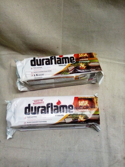 Pair of DuraFlame Fire Starter Logs