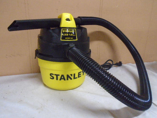 Like New Stanley 1.5HP/1 Gallon Wet/Dry Vac