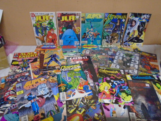 Group of 35 Assorted Comic Books
