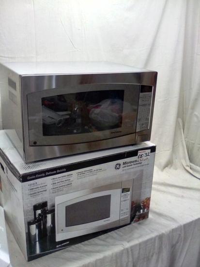 GE Stainless Steel Microwave