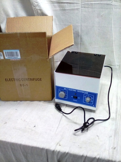 New Item in box Electric Centrifuge
