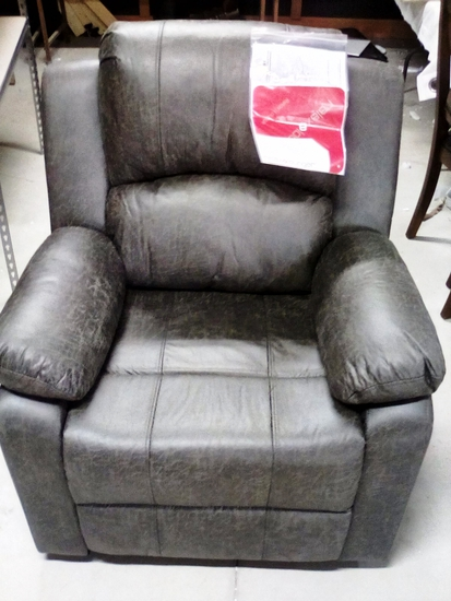 RelaxaLounger Leather Recliner