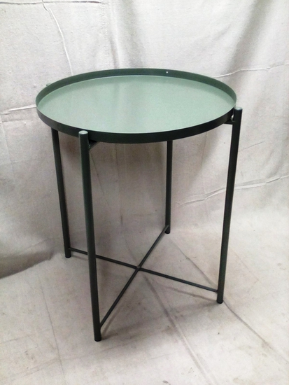 Green Metal Side Stand