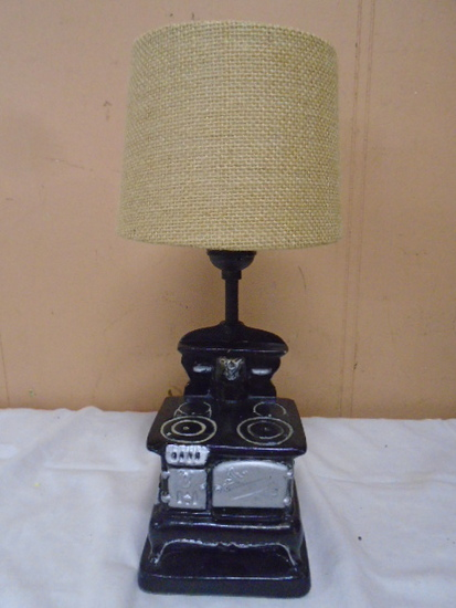 Vintage Stove Table Lamp
