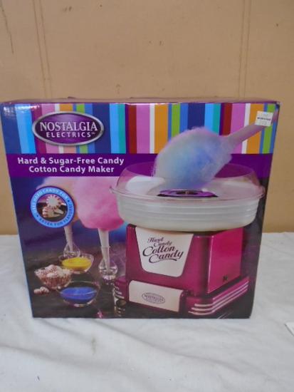 Nostalgia Had & Cotton Candy Maker