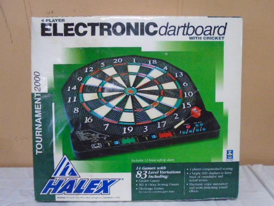 Halex 4 Player Electric Dart Board