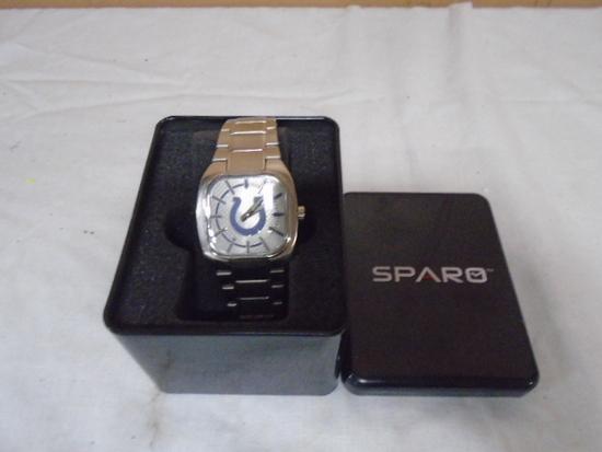 Sparo Indianapolis Colts Man's Wrist Watch