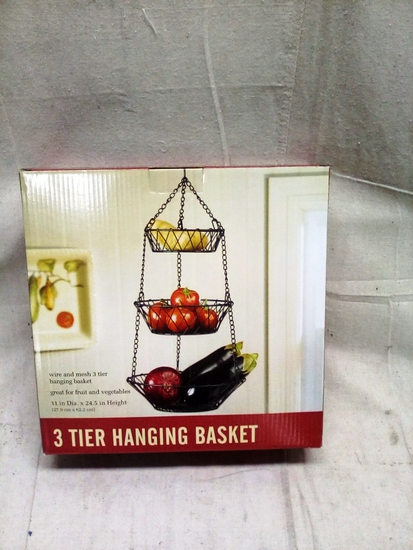 Hanging Three Tier Basket