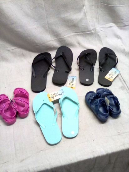Five Pair of Family Footware