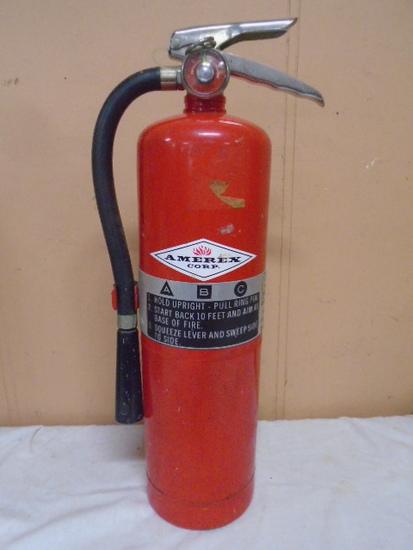 Amerex Large Fire Extinguisher