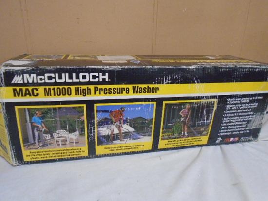 McCulloch M1000 High Pressure Washer