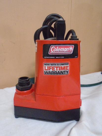 Coleman Sump Pump