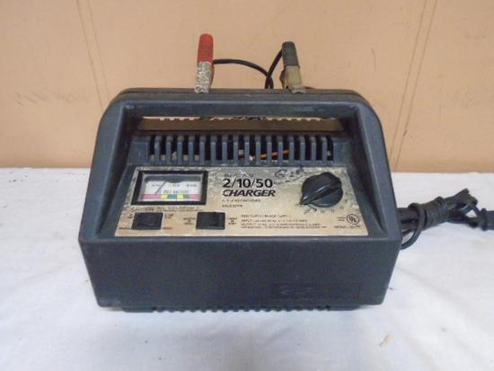 Schumacker 2/10/50 Amp Battery Charger