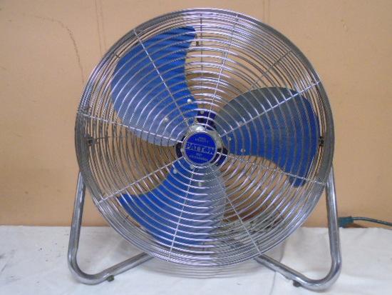 Patton 18in High Velocity 3 Speed Floor Fan