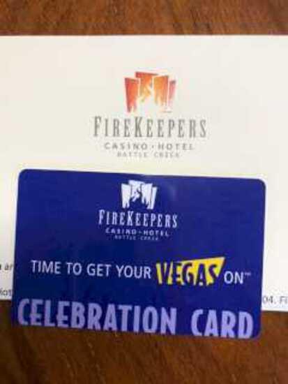 $100 FireKeeper's Gift Card