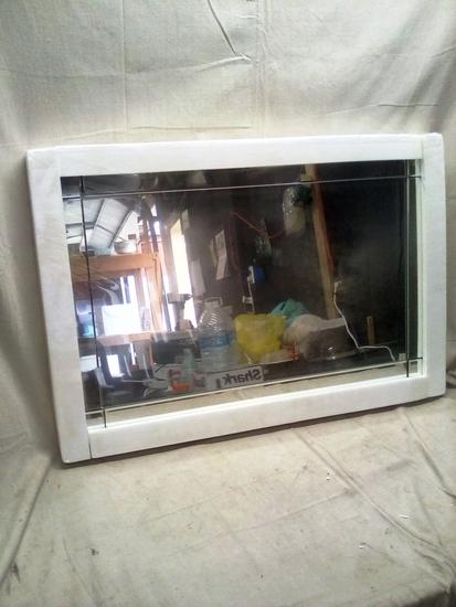 Modern Decorative Rectangular Frameless Wall Mirror - 36x24in