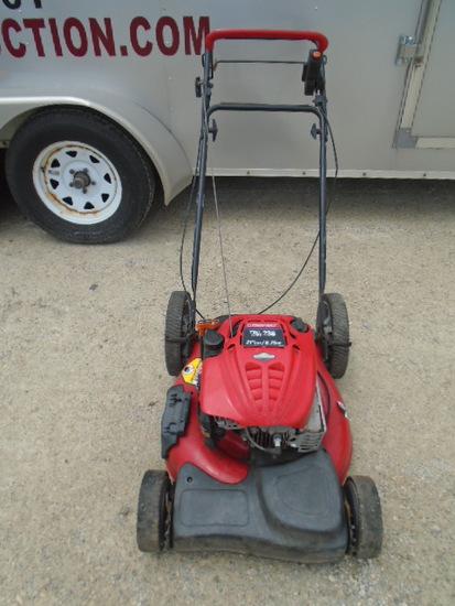 "Troy Bilt 6.75HP 21"" Cut Self Propelled Mower"