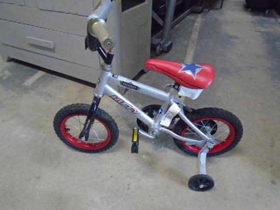 Boy's Huffy Rockit Bicycle w/ Training Wheels