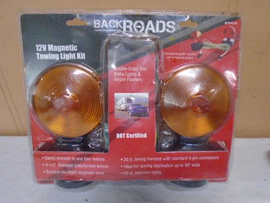 Backroads 12Volt Magnetic Towing Light Kit