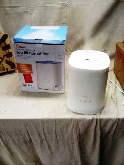 Crane Filter Free Top Fill Humidifier