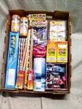Small Box of Fireworks with over $50.00 of Retial Value