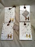 Kitchen artisanal Supply Terrazzo Monogrammed Boards