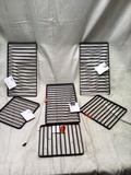 Six Piece Set of Metal Trivets