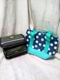 Pair of Insulated Zipper Cooler Bags