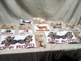 Eight Mossy Oak Vehicle Graphics Stickers