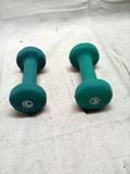 Set of 3 lb Neoprene Therapy Dumbells