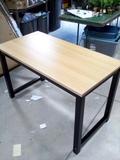 Wooden Top Metal Leg Table/Desk