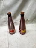 Pair of Wine Saver Bottles