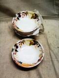 Six Composite Fruit Bowls