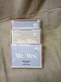 Kate Spade Mr. and Mrs. Thank You Card Sets
