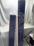 Full Size Grey Upholstered Mattress Foundation