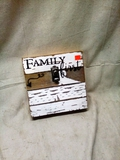 Family First Picture Board