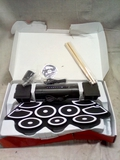 Roll Up Electronic Drum Kit with Drumsticks