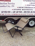 2-Person Double Wide Zero Gravity Chair Lounger w/ Cup Holders, Headrest