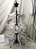Wrought Iron Display w/ Easy Assembly, Stand - 3ft